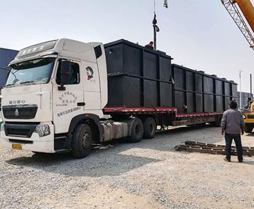安徽MBR小型污水处理设备案例